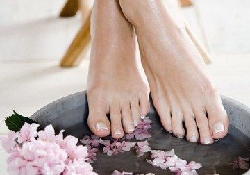 Image Pedicure with OPI
