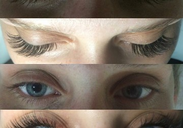 Image Eyelash Extention (Russian Volume)