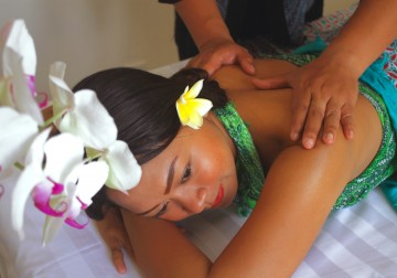 Image Tension Releasing Massage