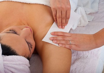 Image Under Arm Waxing Service