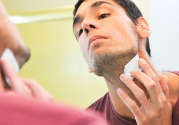 Image Waxing for Male Neck