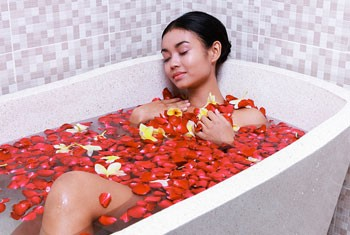 Image Bathing Exclusive - Flower Bath