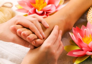Image Orchid Foot Reflexology Massage