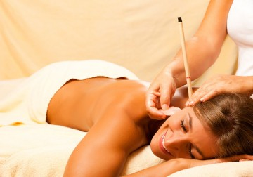Image Ear Candle + Head Massage
