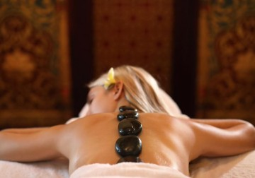 Image Sacred Heated and Cold Stone Massage