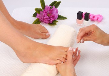 Image Spa Pedicure with Clay Mask