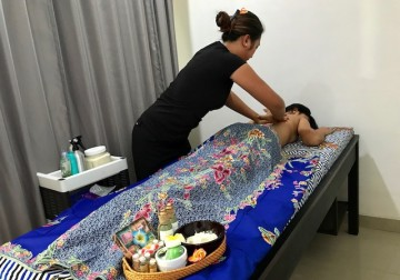 Image Foot and Back Massage