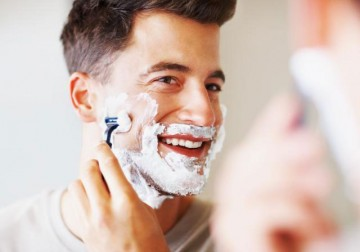 Image Man Shaving