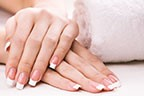 Image Nail Acrylic Extension Plain Polish