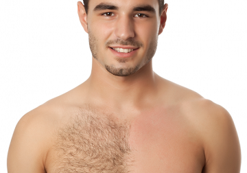 Image Waxing for Male Chest & Stomach