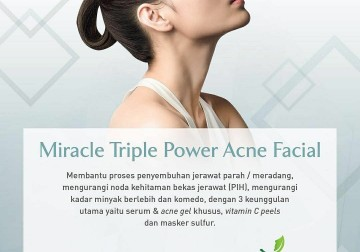 Image Miracle Triple Power Acne Facial