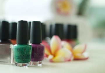 Image French Pedicure with OPI
