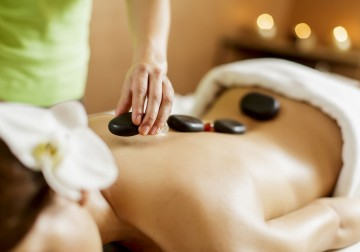 Image Warm Stones Massage