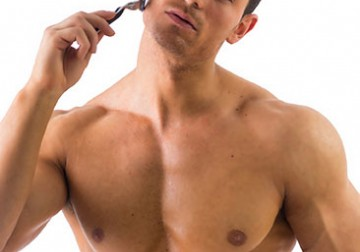 Image Waxing for Male Ear