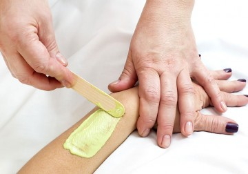 Image Waxing for Female Half Arm