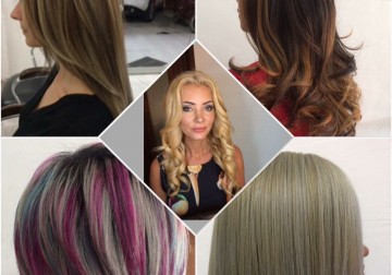 Image Hair Colouring (1/4 Head Foils)