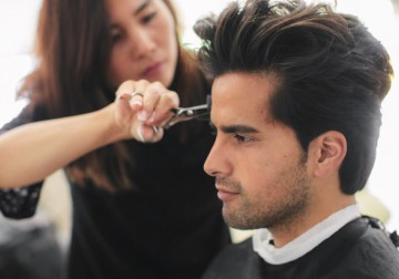 Image Cut & Blow Dry - Male Stylist RONI