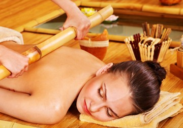 Image Warm Bamboo Massage