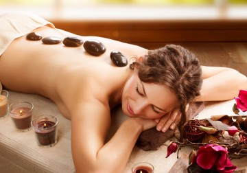 Image Volcanic Hot Stone Therapy